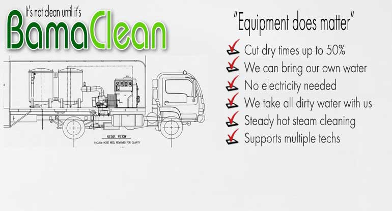 Bamaclean Commercial Carpet Cleaning Facilities