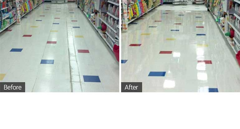 Bamaclean Commercial Floor Waxing Facilities Service