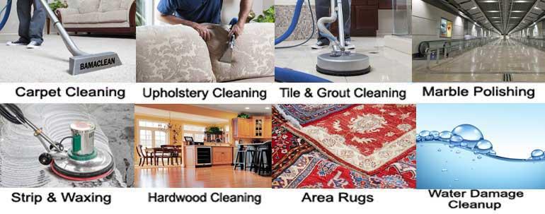 Carpet Cleaning Water Damage Fire Damage Mold Restoration - Using a carpet cleaner on tile floors